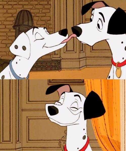 Perdita pongo dalmatians cartoons sfondi sfondi