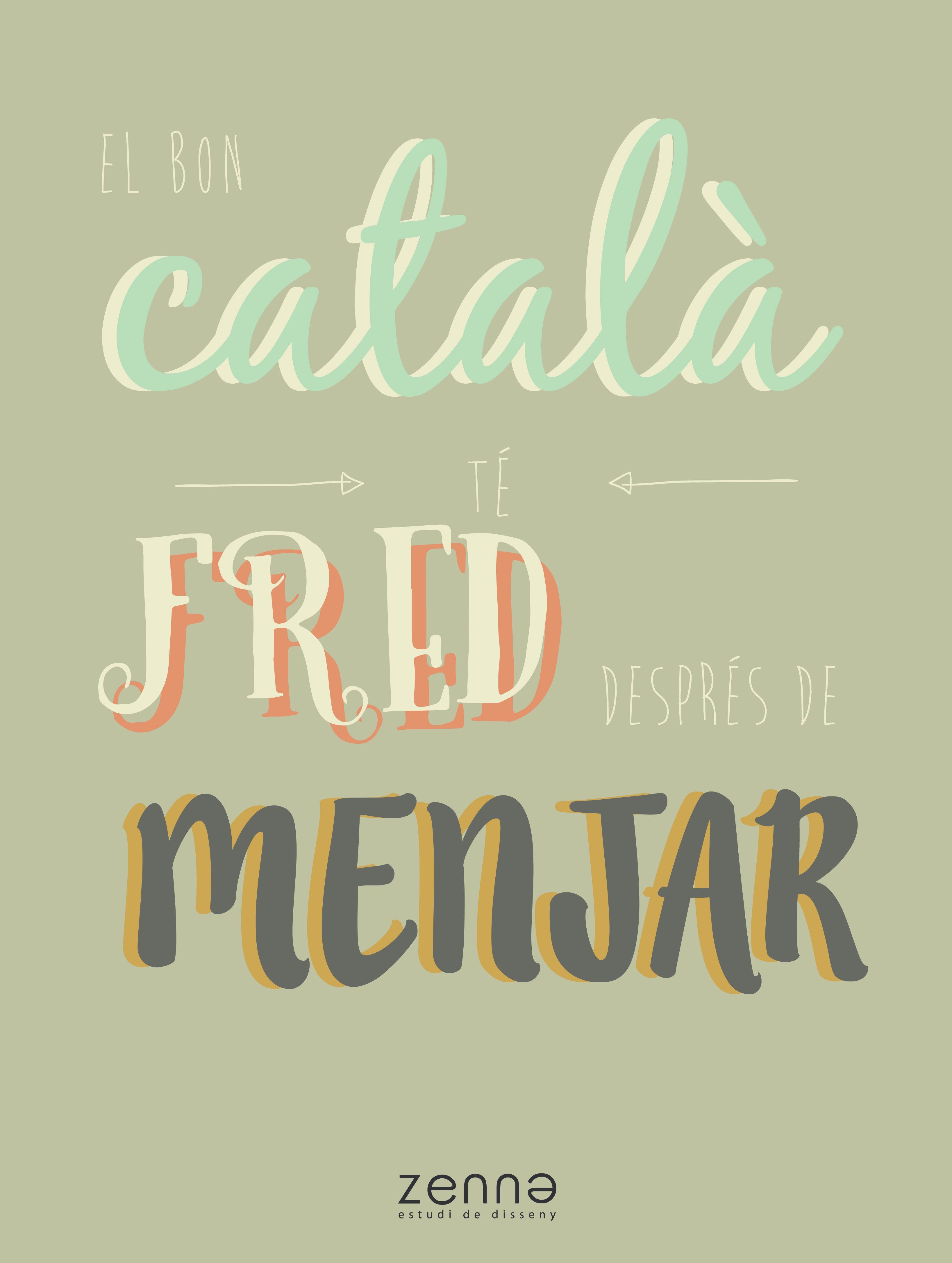 Vinilo Decorativo Frases En Cataln Qui Busqui L39infinit Que Tanqui