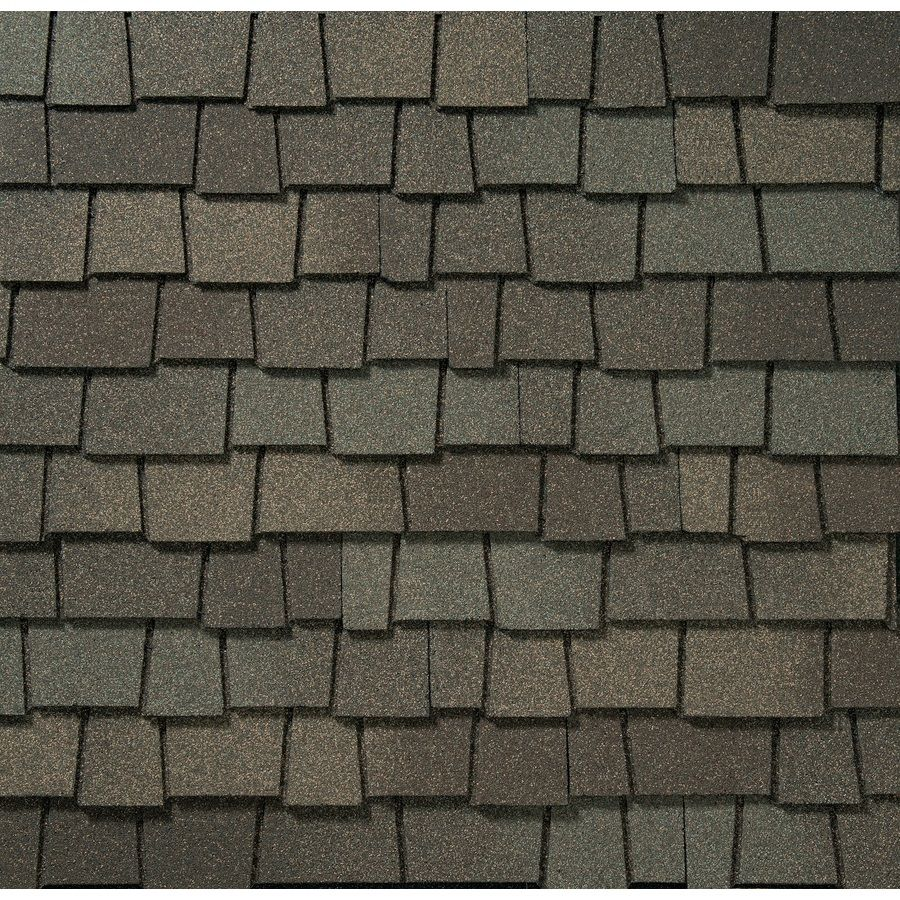 GAF Glenwood 1111sq ft Weathered Wood Laminated Architectural Roof – Laminated Asphalt Roofing Shingles