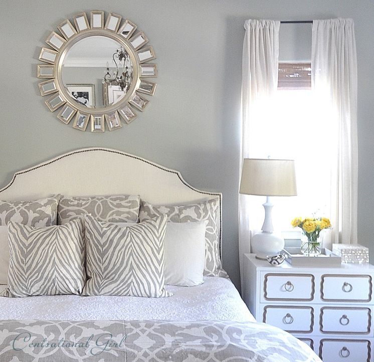 Bedroom Sunburst Mirror Over The Bed There Are Very Few