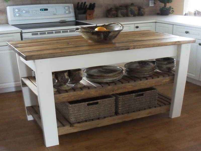 How To Build DIY Kitchen Island Plans Excellent