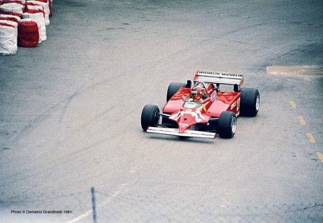 31 maggio 1981 - 39 Grand Prix Automobile de Monaco - Gilles VILLENEUVE su Ferrari 126 C Turbo (1 C