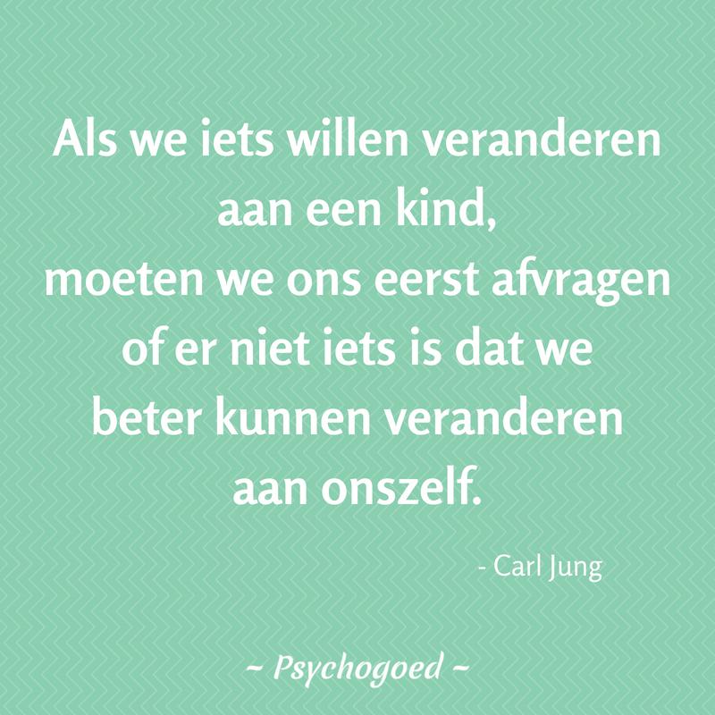 Wijze Uitspraak Of Quote Van Carl Jung Over Opvoeden Het