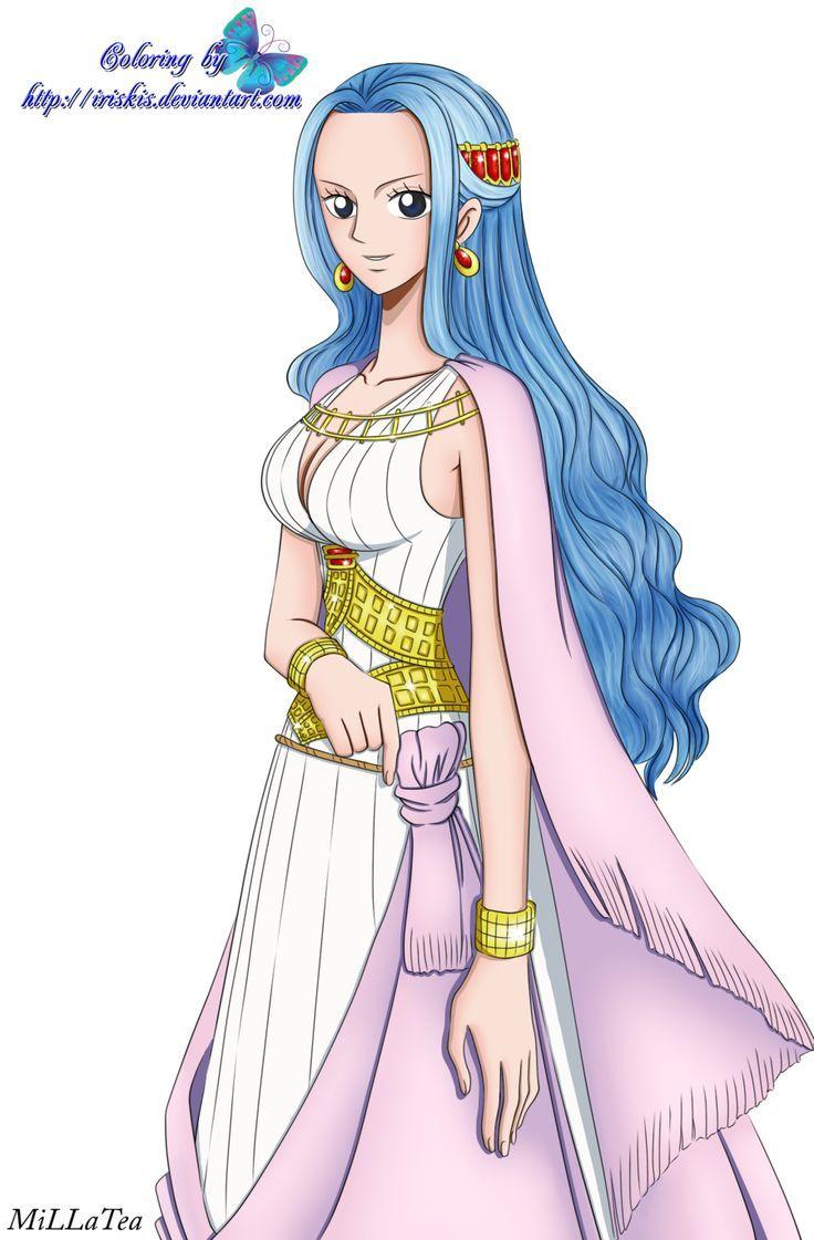 Princess Vivi One Piece Manga One Piece Anime One Piece