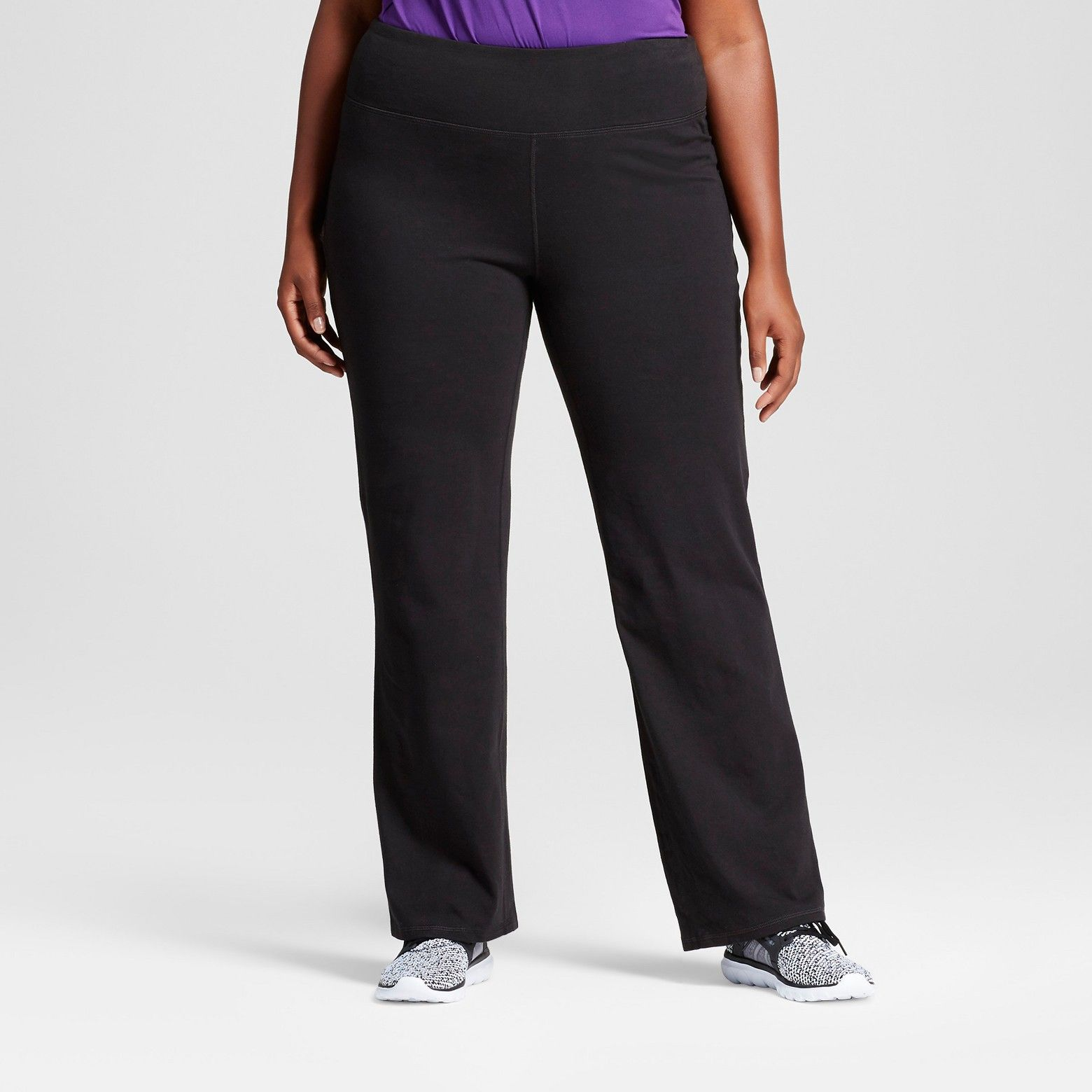 b0b7b308fcc5 The Women s Plus Size Cotton Spandex Pant from C9 Champion® features our  blend of cotton and spandex fabric that wicks moisture while providing the  comfort ...