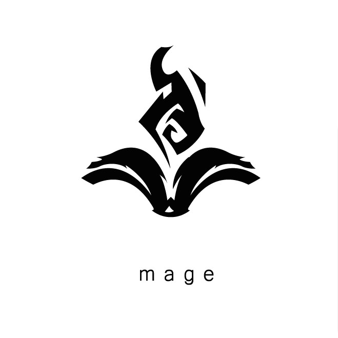 League Of Legends Mage Icon Gambar Grafis Logo Keren