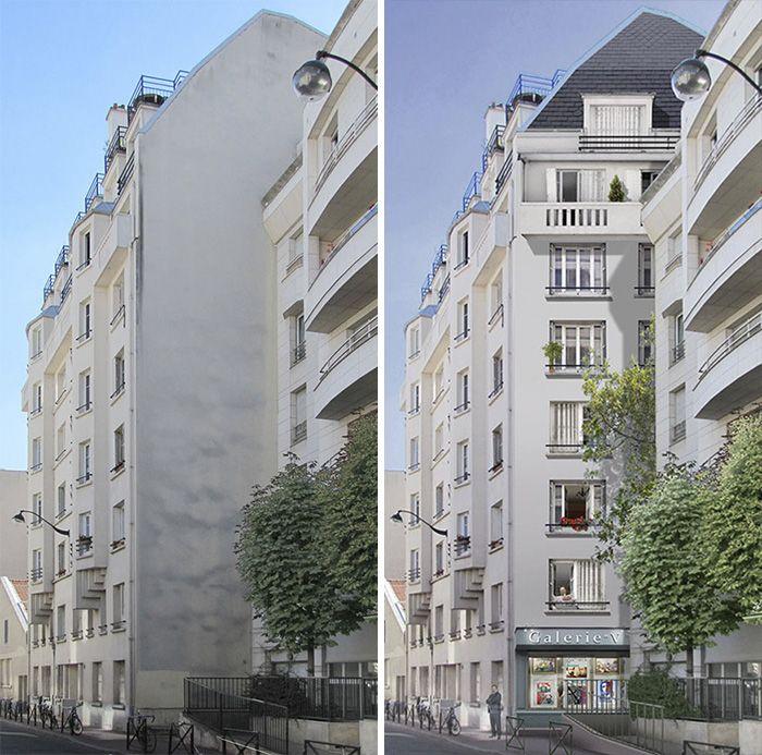 Fachadas originales #arteurbano #fachadas TERRAZAS BALCÓN Pinterest - fachadas originales