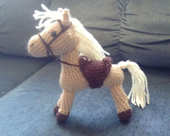 Amigurumis Caballitos A Crochet : Amigurumi crocheted stuffed horse caballos de peluche caballos