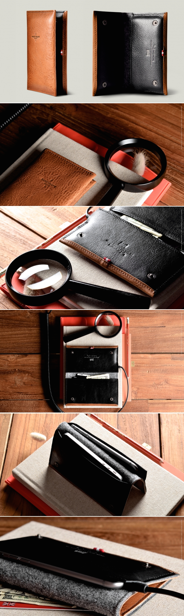 #hardgraft Phone Fold Wallet