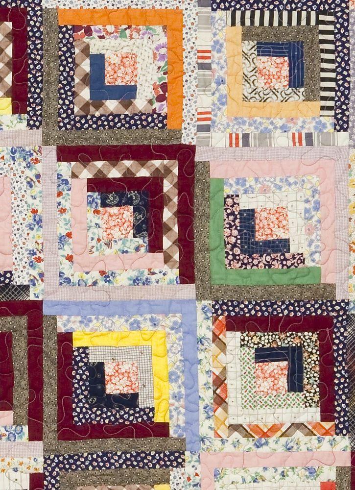 Vintage Log Cabin Quilt Vintage Quilts Quilts Modern Quilts