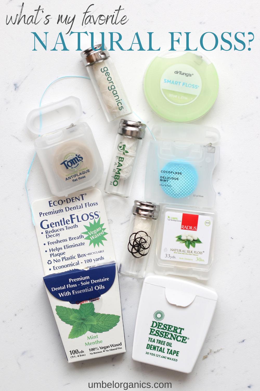 PFASFree Dental Floss Natural floss reviews + favorites