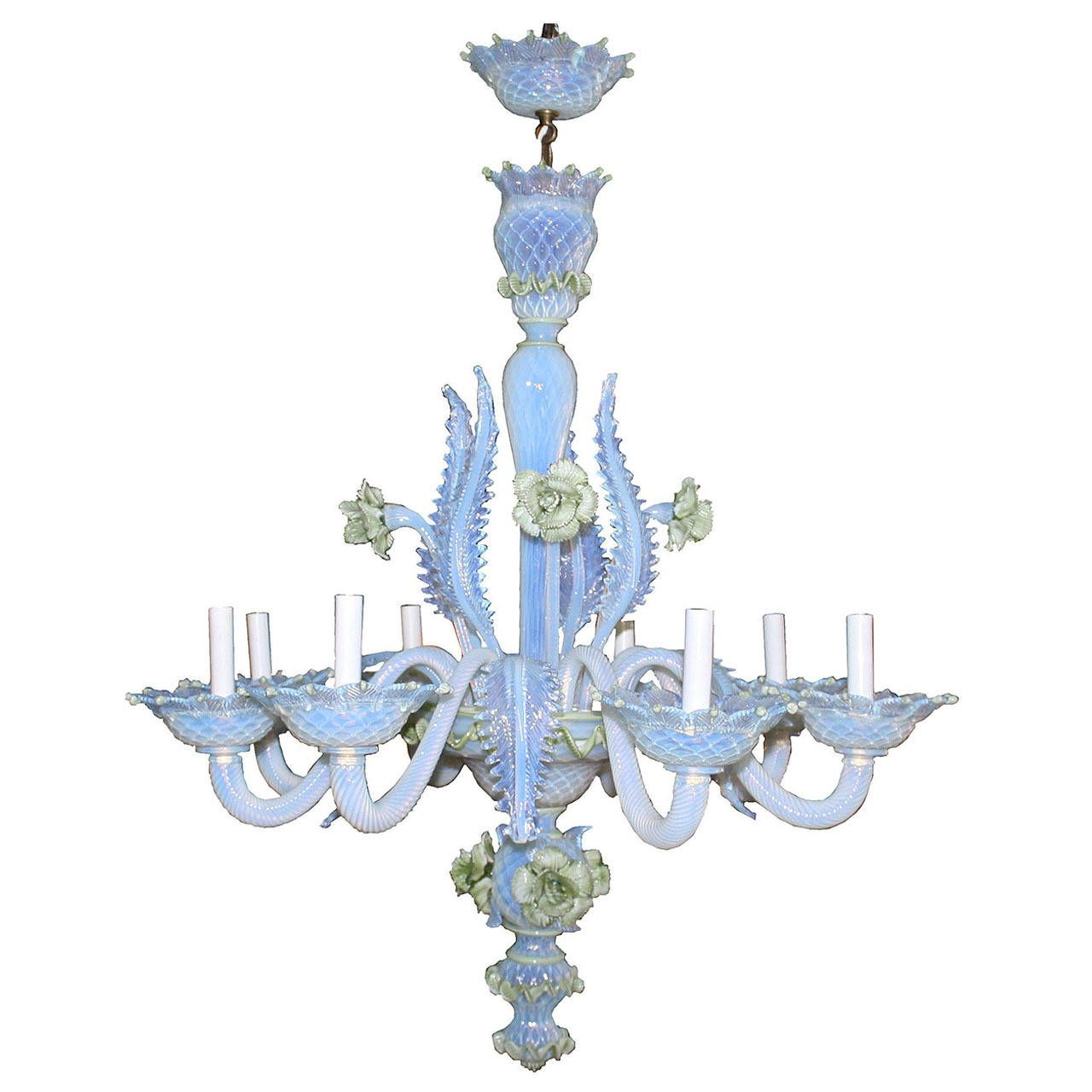 19th century murano glass ciocca chandelier murano glass 19th century murano glass ciocca chandelier mozeypictures Image collections