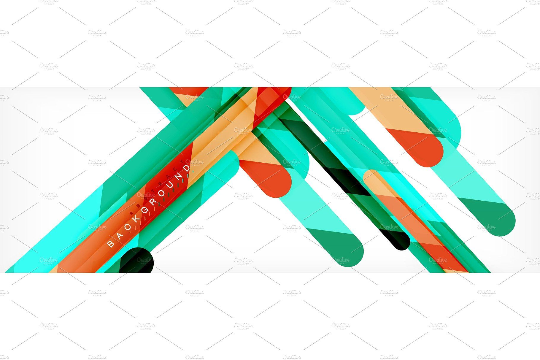 Straight Lines Abstract Vector Abstract Layout Template Geometric