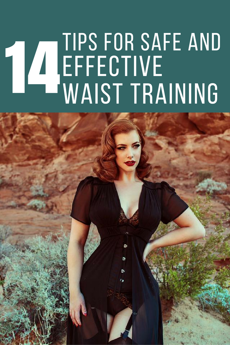 67a4586ffcf 14 Tips for safe and effective Waist Training. Model Miss Victory Violet.  Photograhy by Madeineighty