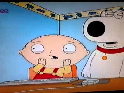 Stewie Griffin reaction 2 girls 1 cup Family Guy