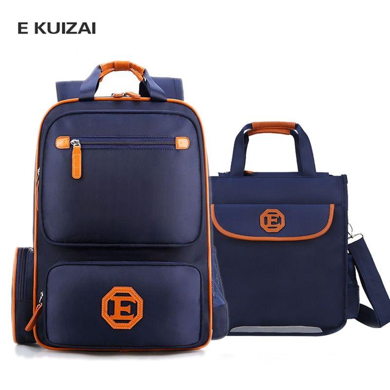 e5d9ea1ca1 Wholesale Price + Free Shipping  Special Purpose Bags EKUIZAI New School  Bags Kids School Backpack School bag For Boys girl Waterproof Backpack  Children s ...