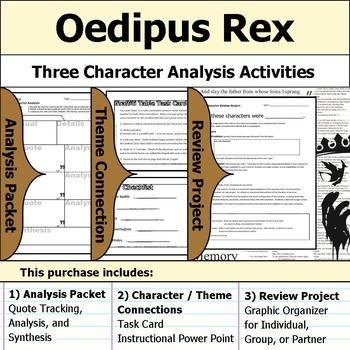 001 Oedipus Rex or Oedipus the King Character Analysis