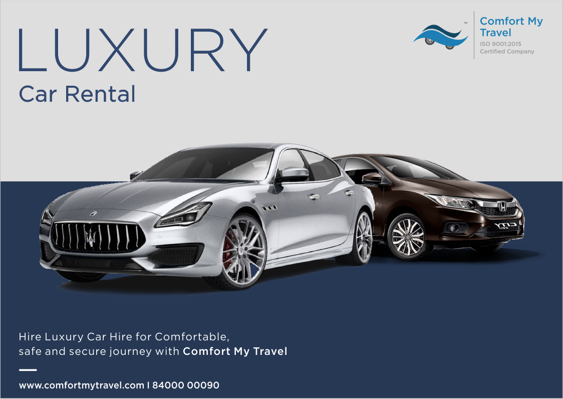 Hire Luxury Car With Comfort My Travel For Comfortable Safe And Secure Journey All Type Of Luxury Cars Available Lik Luxury Car Hire Car Rental Luxury Cars
