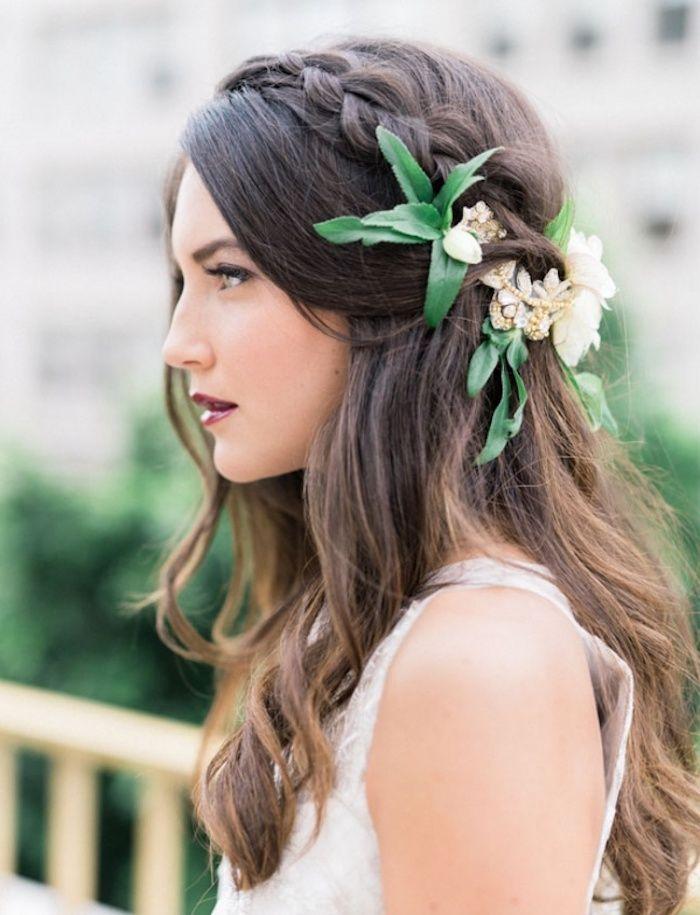 1001 + idées pour la coiffure mariage bohème parfait