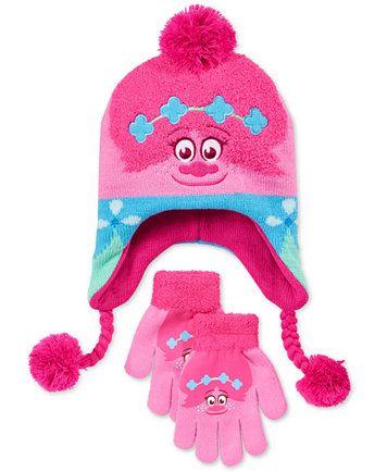 98361751758 DreamWorks Trolls Princess Poppy Hat   Gloves Set