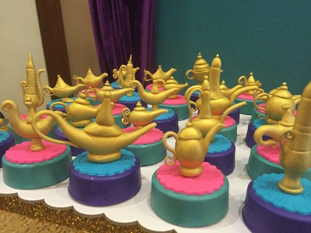 Genie's Princess Jasmine of Disney Aladdin Themed Party – Desserts