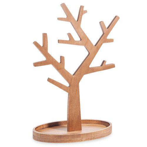 Holz Le Design schmuckhalter aus holz h 30 cm escoba tree creativos