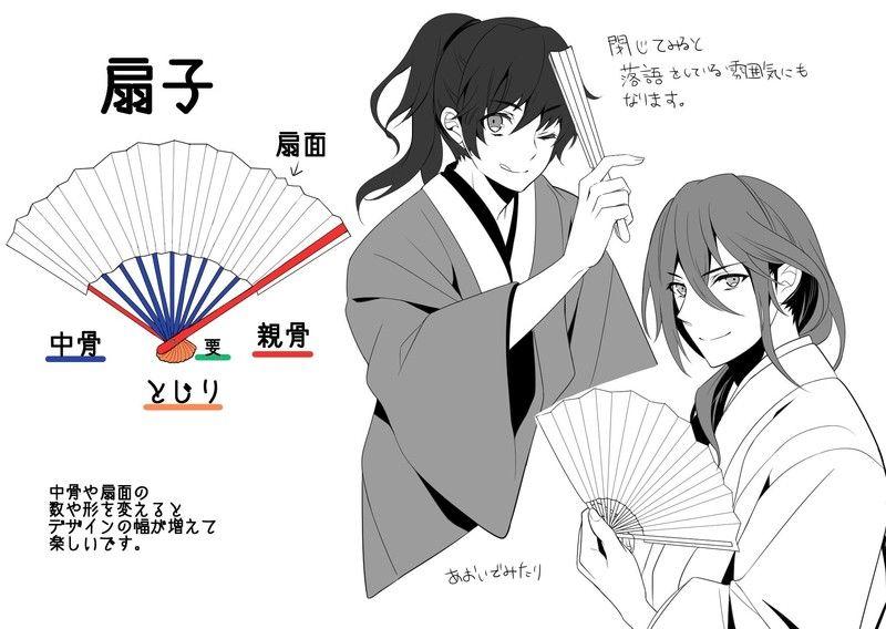 和服男子を魅力的に描く3つの作画ポイント Painting Skills 基本畫
