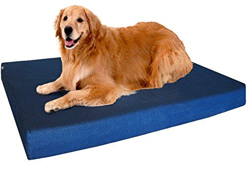 Robot Check Waterproof Dog Bed Dog Bed Large Extra Large Dog Bed