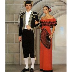 Mens Matador Spanish Bull Fighter Fancy Dress Costume Adult Outfit