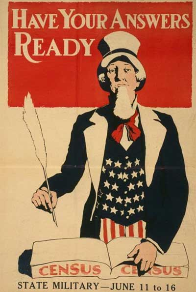 WWI propaganda posters - Have Your Answers Ready for the State Census