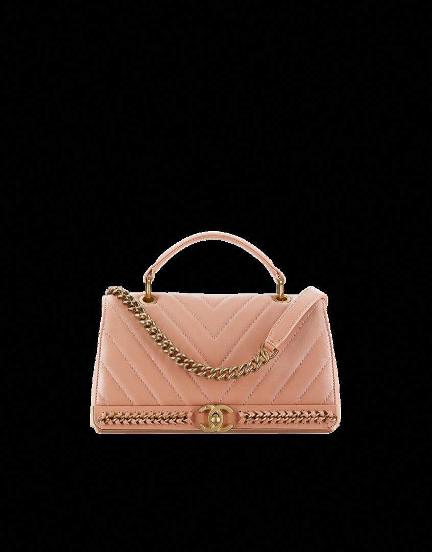 8c4eafa4b Waist bag, lambskin, metallic calfskin, imitation pearls, ruthenium-tone &  gold-tone metal-dark gold & black - CHANEL #Chanelhandbags