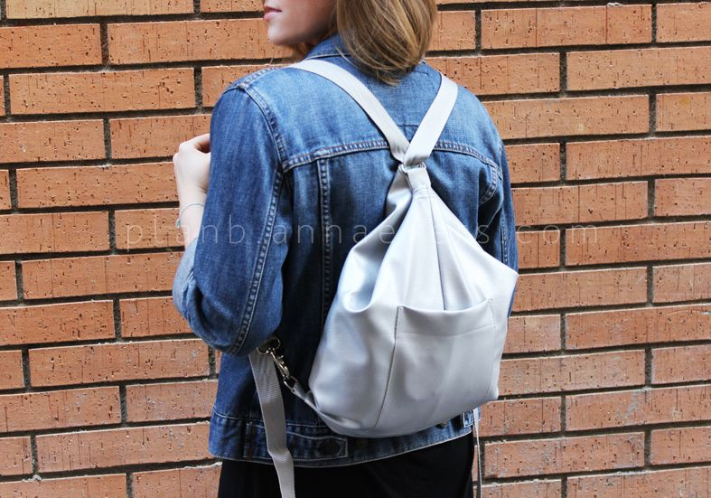 Plan B anna evers DIY Silver backpack