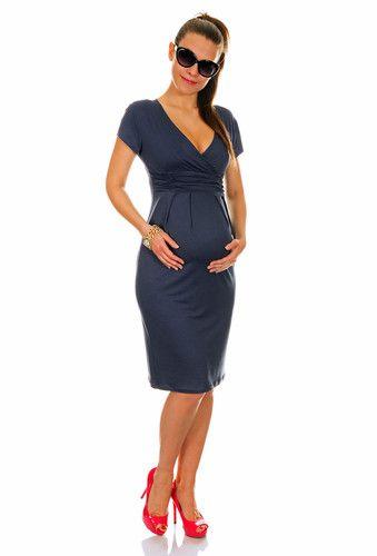 04aadf8a8f2b6 Small Bump Maternity Pregnancy Jersey Dress • UK 8 18 • US 6 16 • EU 36 46  • 573 | eBay