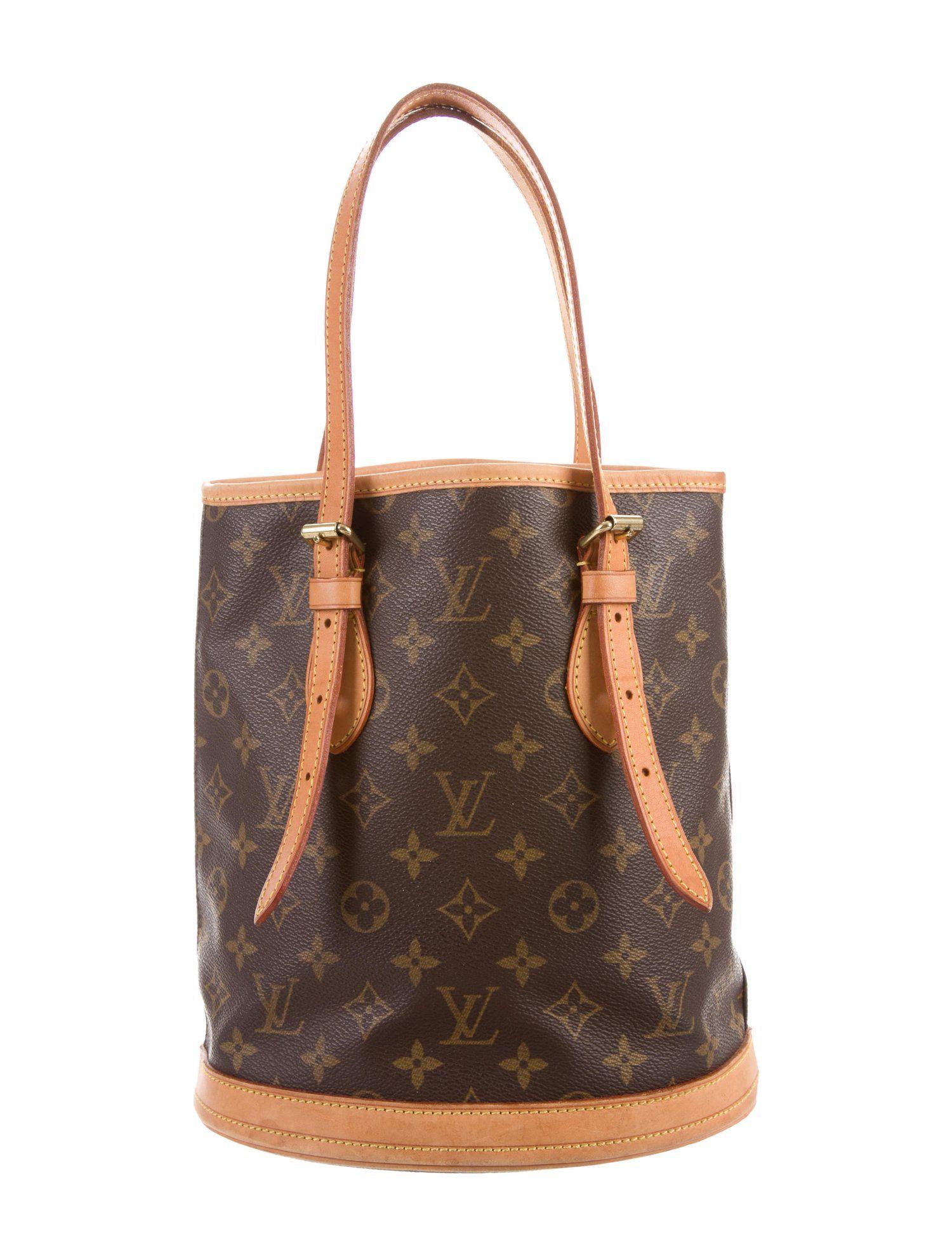d24e3415102e Louis Vuitton Monogram Bucket PM - Handbags - LOU162046