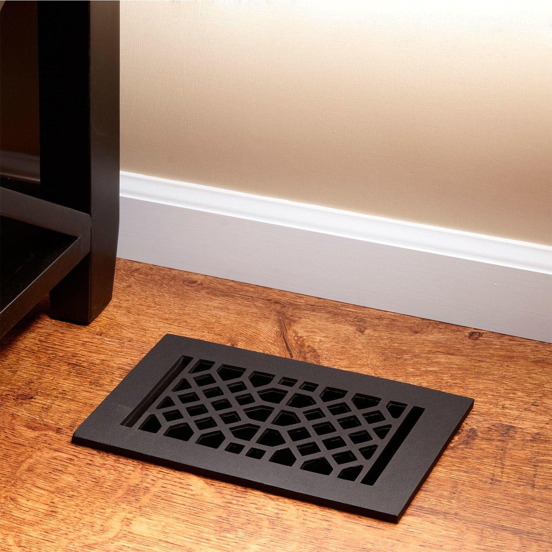 Cast Iron Floor Air Return Grille Flooring, Metal floor
