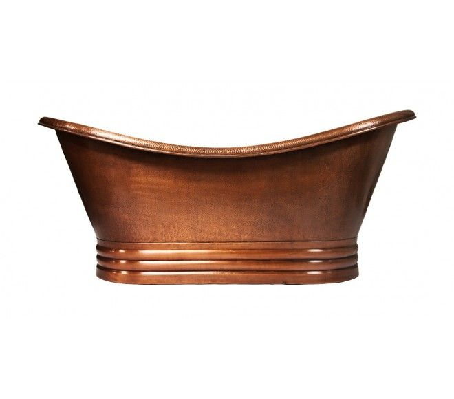 montreal™ copper tubcoppersmith | copper bathtubs | pinterest