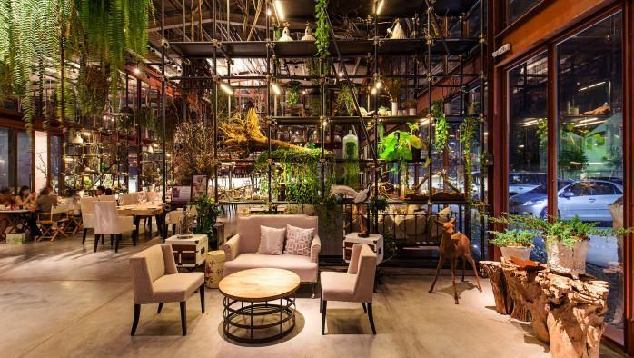 Arredamento Thailandese ~ Arredamento di interni dall oriente trionfa il green style