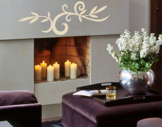 Candles In Fireplace Ideas candles in an unused fireplace   can't use your fireplace? get
