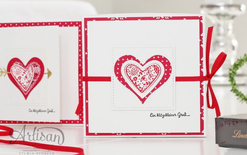 Kleine Geschenke Zum Valentinstag   Mit Stampin Up!