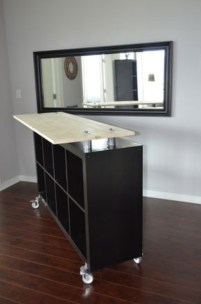 Moveable Counter Space Ikea Hack Standing Desk Kitchen