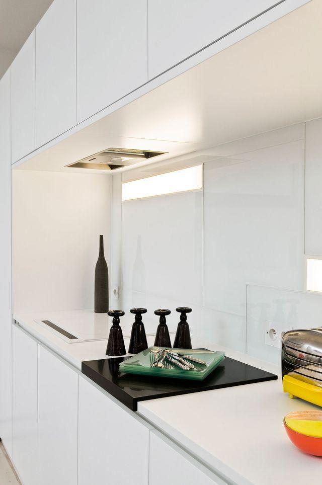 Aménagement cuisine cuisine ouverte sur salon, salle à manger