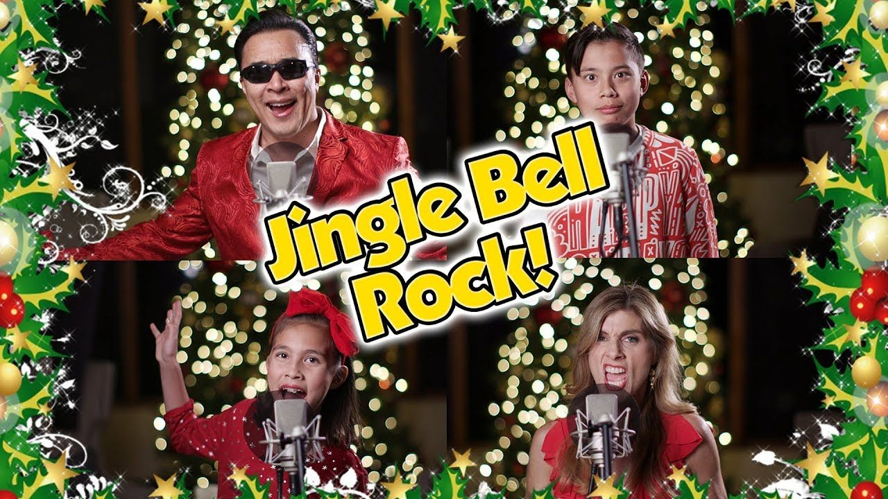 JINGLE BELL ROCK with The Tube Family Singers!!! Christmas Cover ...
