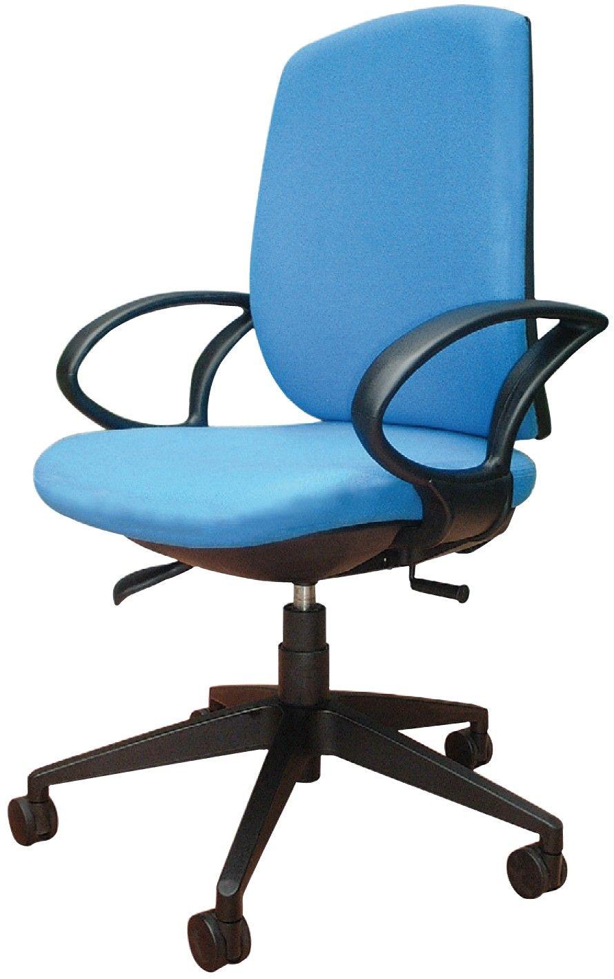 Silla Para Escritorio Color Azul Chair Office Chair Decor