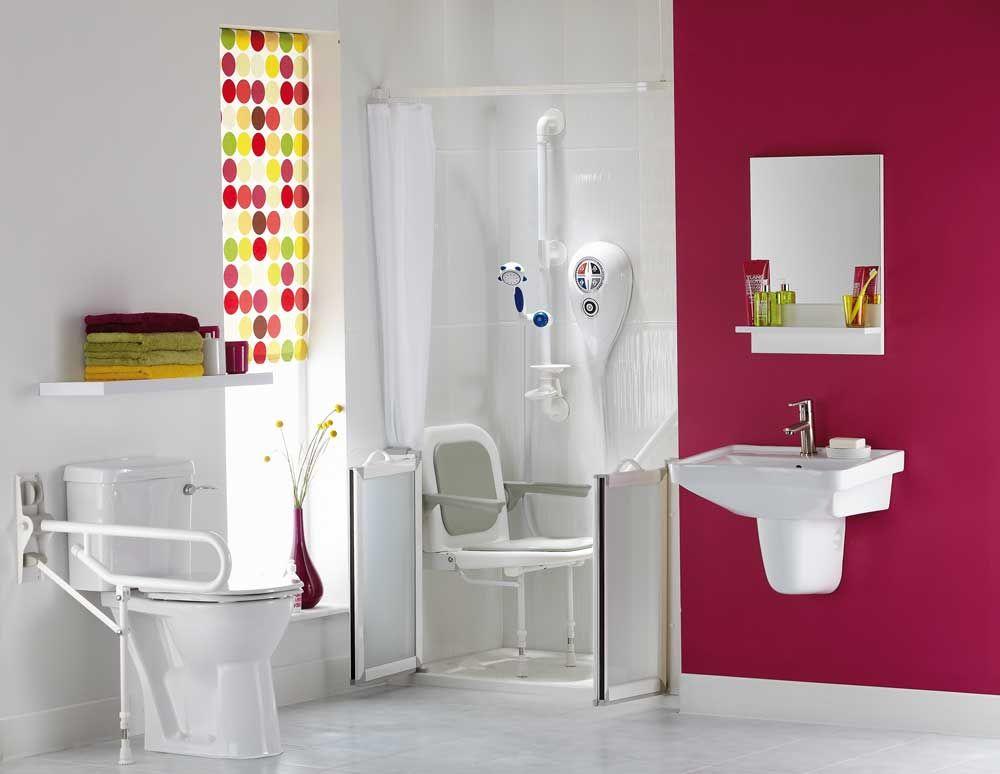 Disabled Showers Handicap Bathroom Washroom Design