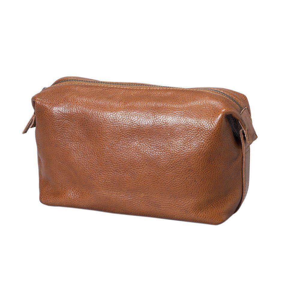 Reizen Wash Bag - Tan