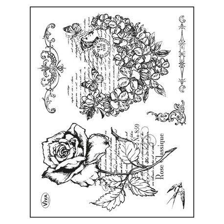 Tampon Dessin Grand Cœur Fleur Motifs Coeur Pinterest