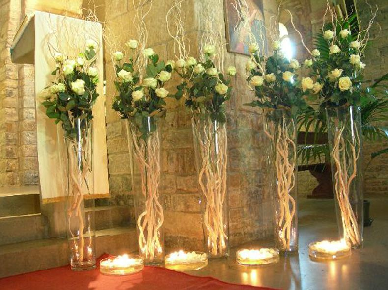 Addobbi chiesa matrimonio con candele cerca con google for Addobbi piscina