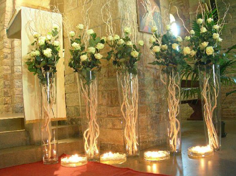 Addobbi chiesa matrimonio con candele cerca con google for Addobbi tavoli matrimonio con candele