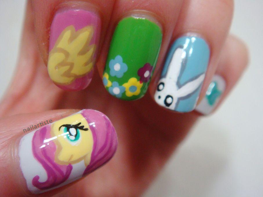my little pony nails x   MLP!!!!!!!   Pinterest   Diseños de uñas y ...