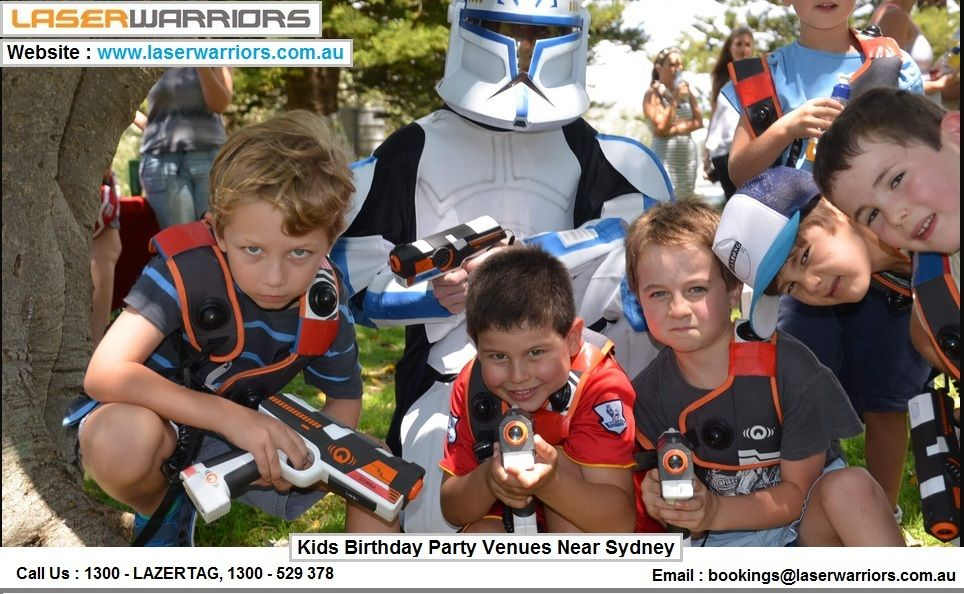 Here are our top kids birthday party packages ideas